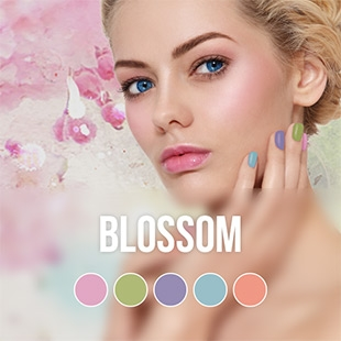 Blossom gel nail polish color collection