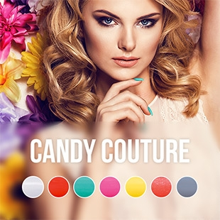 Candy Couture gel nail polish color collection