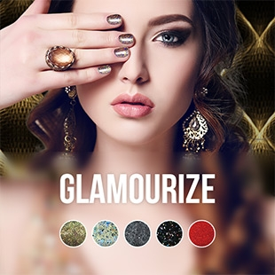 Glamourize gel nail polish color collection