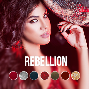 Pink Gellac Rebellion Collection Color Collection