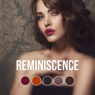 Reminiscence gel nail polish color collection