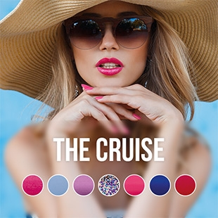 The Cruise gel nail polish color collection