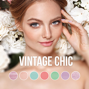 Pink Gellac Vintage Chic Color Collection