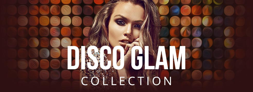 Disco Glam Gel Nail Polish Color Collection