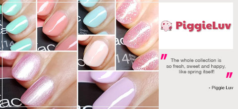 Pink Gellac Vintage Chic Collection Review 01