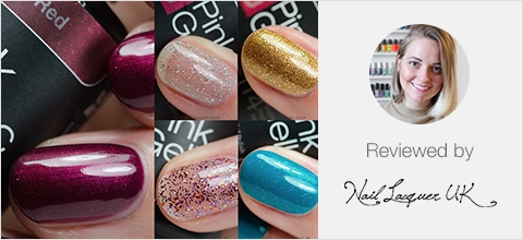 Pink Gellac Disco Glam Collection Review 02