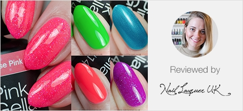 Pink Gellac Buttefly Collection Review 02